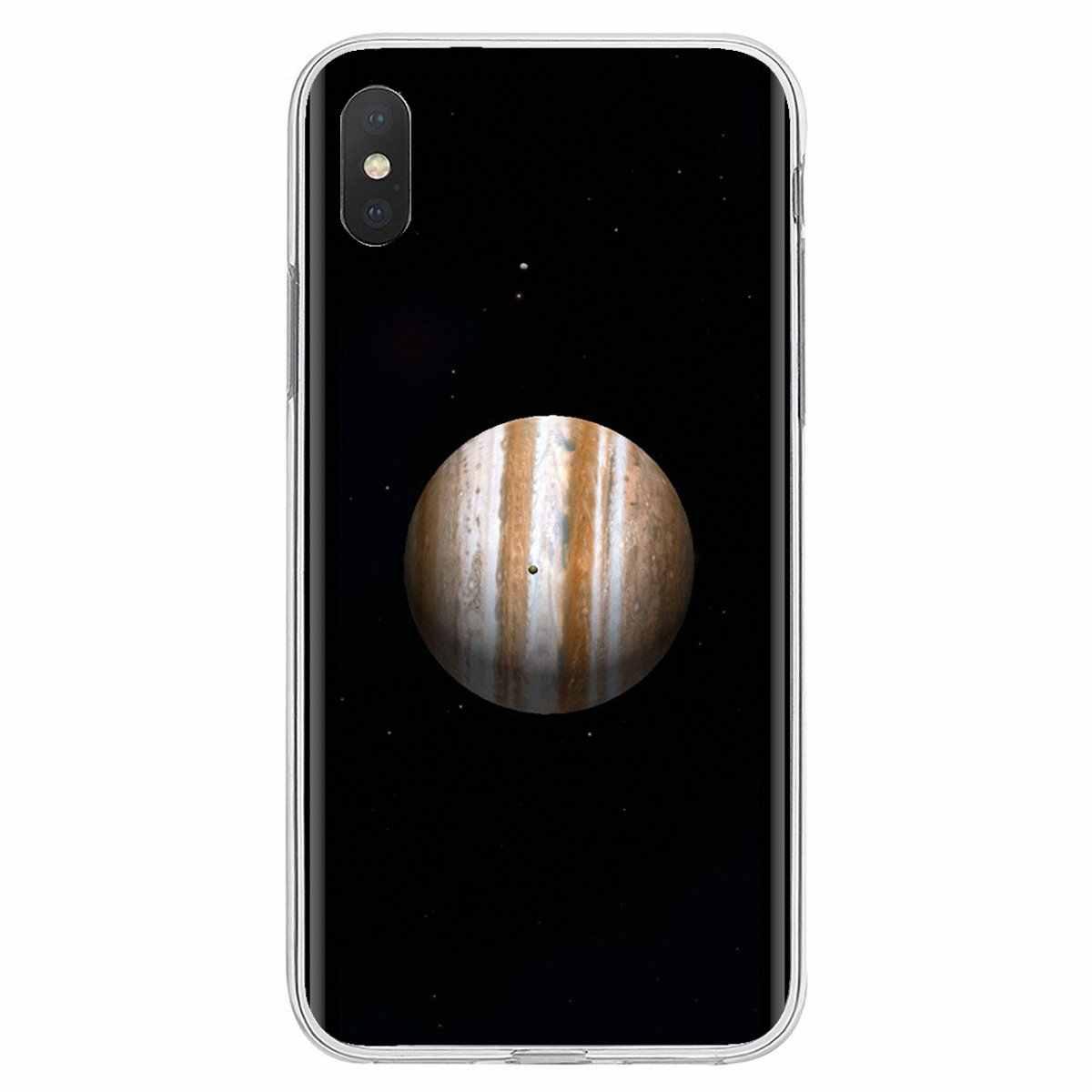 """Реальный Юпитер плакат &quotПланета"""" особенный силиконовый чехол для телефона"""