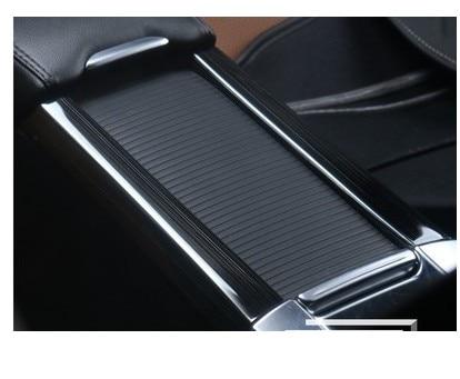 Interior de acero inoxidable taza de titular Panel Cover Trim para Volvo XC60 V60 S60 2011, 2012, 2013, 2014, 2015, 2016 2017 Nuevo Multi Color USB Iluminación led interior de coche Kit atmósfera luz neón lámparas