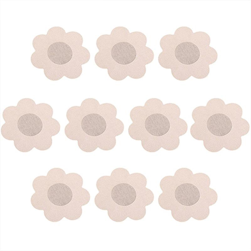 10pcs Milk Paste Bra Invisible Silicone Breast Women Bikini Lift Tape Lifting Chest Nipple Cover Sticker Pad Swimwear Swimsuit