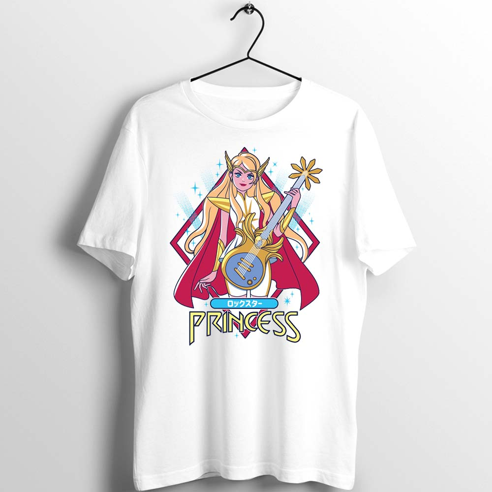 Unisex Men Women T Shirt Anime She Ra Princess Of Power Cartoon Funny Artwork Printed Tee Custom Basic White Men Shirt Casual