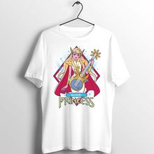 Unisex Mannen Vrouwen T-shirt Anime Ze Ra Prinses Van Power Cartoon Grappige Kunstwerk Gedrukt Tee Custom Basic Wit Mannen shirt Casual(China)