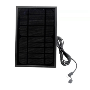 Image 5 - Solar Panel for Security Camera 5V Wall Mount Outdoor Weatherproof Solar Power Charging Panel for Home System Android Interface