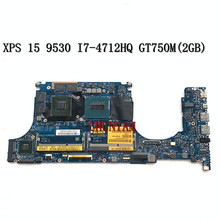 Laptop Motherboard DELL Mainboard100%Tested LA-9941P FOR XPS 15/9530 Vaub0/La-9941p/I7-4712hq/Gt750m