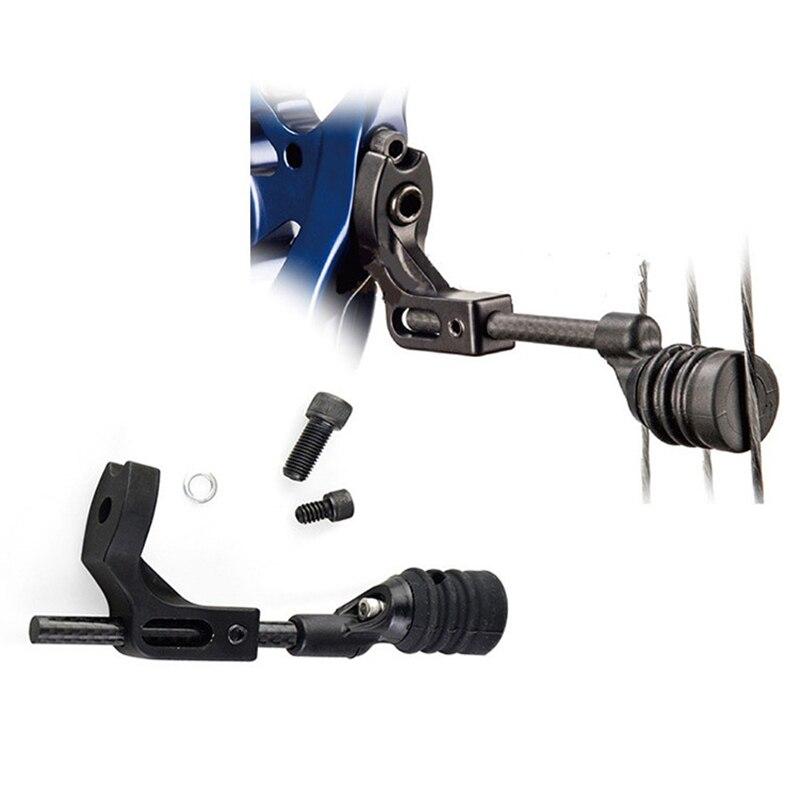1 Set tir à l'arc composé chaîne Stop suppresseur stabilisateur silencieux amortisseur de Vibration tir à l'arc mise à niveau remplacement