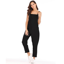 Loose Maternity Pants Pregnant Trousers Strap Belt Bib Suspenders For Pregnancy Women Overalls Jumpsuit Clothing Plus Size(China)