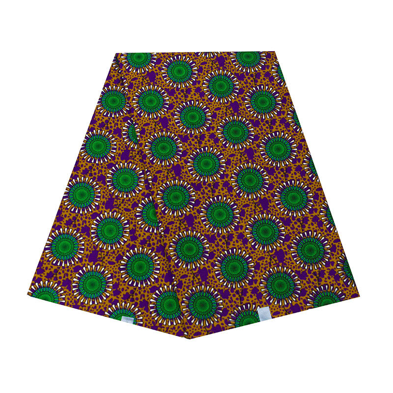 Wholesale 6 Yards Breathable African Ankara Wax Fabric High Quality Ankara African Wax Print Fabric For Spring And Summer 110cm