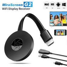 Tv vara wieles hdmi-compatível dongle receptor 2.4g wifi display 1080p dongle com miracast airplay dlna para android ios