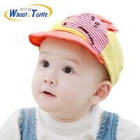 Offre spéciale enfants été respirant lapin oreille casquettes nouveau-né bambin bébé chapeaux fille garçon Snapback Cap Dots petits chapeaux d'oreille