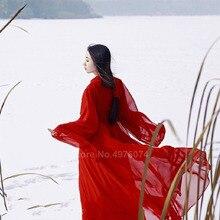 Hanfu-Dress Dance-Costumes Folk Women Tang-Suit Oriental Traditional Chinese Female Vintage