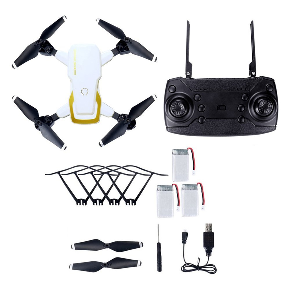 LF609 2 4G Wifi FPV RC Drone Foldable Quadcopter 0 3MP 2 0MP camera drone brushless motor RC Quadcopter 3D Flip Headles drones