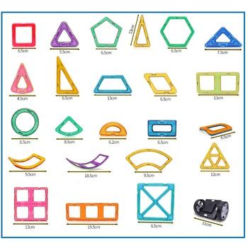 KACUU Big Size Magnetic Designer Construction Set Model Building Toy Magnets Magnetic Blocks Educational Toys For
