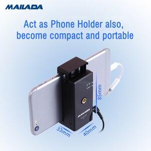 Image 2 - Mailada Vlog Go UHF Condensor système de Microphone sans fil enregistrement vidéo cravate micro pour iPhone Android DSLR pk Rode