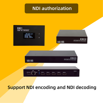 5xHDMI SRT Encoder to ip H.265 IPTV rtmp Encoder YouTube  1080p 4K/30 x 5 MPEG4 RTSP HLS RTMPS Live Stream WOWZA Facebook Live - NDI authorization