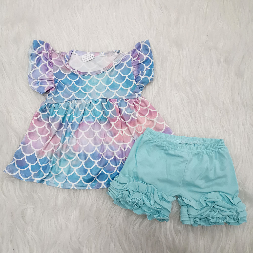 NEW Boutique Baby Girls Swing Top /& Ruffle Bloomers Girls Outfit Set