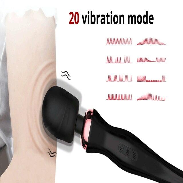 OnQ Leistungsstarke Klitoris Vibratoren USB Aufladen Zauberstab AV Vibrator Massager Sexuelle Wellness Erotische Sex Spielzeug für Frauen Erwachsene Spielzeug 2