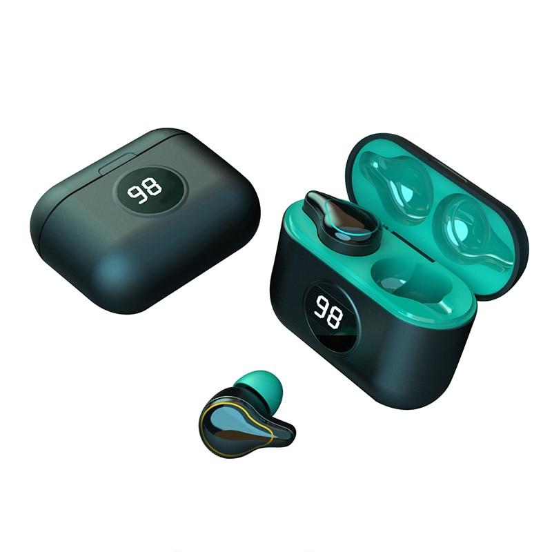 TWS True Wireless Earphone Noise Canceling Headphones Bloototh Earphones 5.0 Gaming Headsets with Microphone for Xiaomi Phones