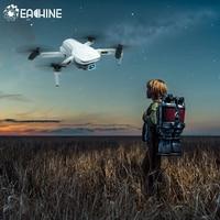 Eachine-mini drone com quatro hélices dobráveis, quadricóptero com gps, 5g, wi-fi, ex5 minutos de voo, fpv, 200m/1000m, 4k