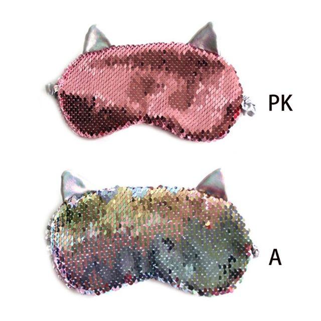 Купить женская милая маска для глаз с кошачьими ушками мультяшная сна картинки цена