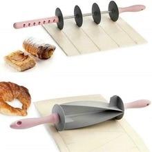 Регулируемая Скалка многофункциональные круассаны для резки хлеба утюгом антипригарный съемный тесто лапша кухонный инструмент плесень