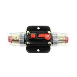 Автоматический прерыватель цепи усилителя звука для грузовика, 20 А, 30 А, 40 А, 50 А, 60 А, 80 А, 100 А, 12 В, блок предохранителей, стереоусилитель AGU Style