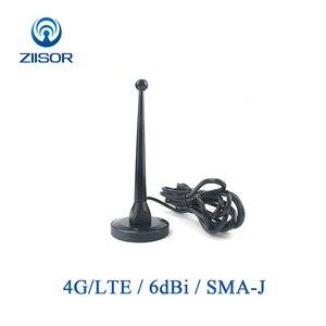Image 1 - 4G LTE Antenne met Magnetische Voet Router Antenne Wifi SMA Mannelijke Omnidirectionele Antena DTU Draadloze Module Antenne TX4G TB 300