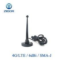 4G LTE Antenne mit Magnetische Basis Router Antenne Wifi SMA Männlichen Omnidirektionale Antena DTU Drahtlose Modul Luft TX4G TB 300