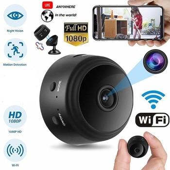 Gosear Mini Home Security Camera A9 1080P HD WiFi IR Night Vision Camcorder 360 Degree Bracket Phone App Contron IP Camera SQ20