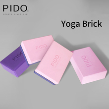 PIDO 3*6*9inch EVA Yoga Block Exercise Pilates Gym Sports High Density Foam Yoga Brick Stretching Aid Body Shaping Yoga Aids цена 2017