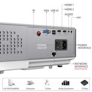 Image 5 - ThundeaL Full HD Native 1080P Projector TD96 TD96W Projetor LED Wireless WiFi Android Multi Screen Beamer 3D Video Proyector