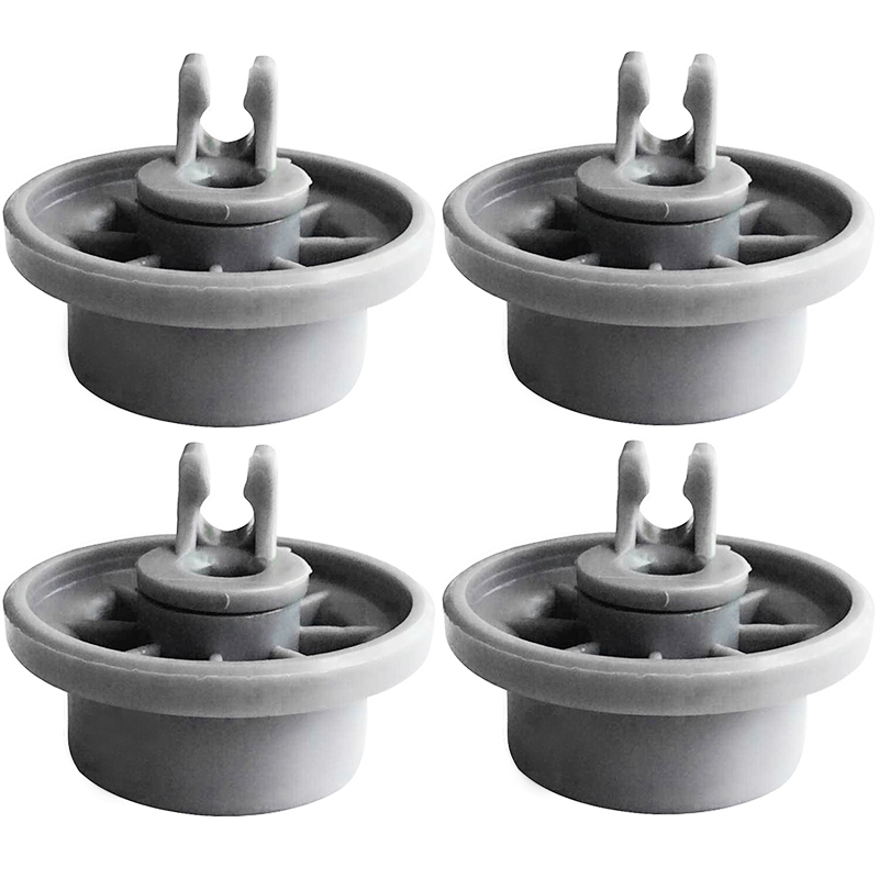 Durable And Practica 4pcs For BOSCH Dishwasher Basket Wheels Replacement Parts For Bosch Siemens Neff