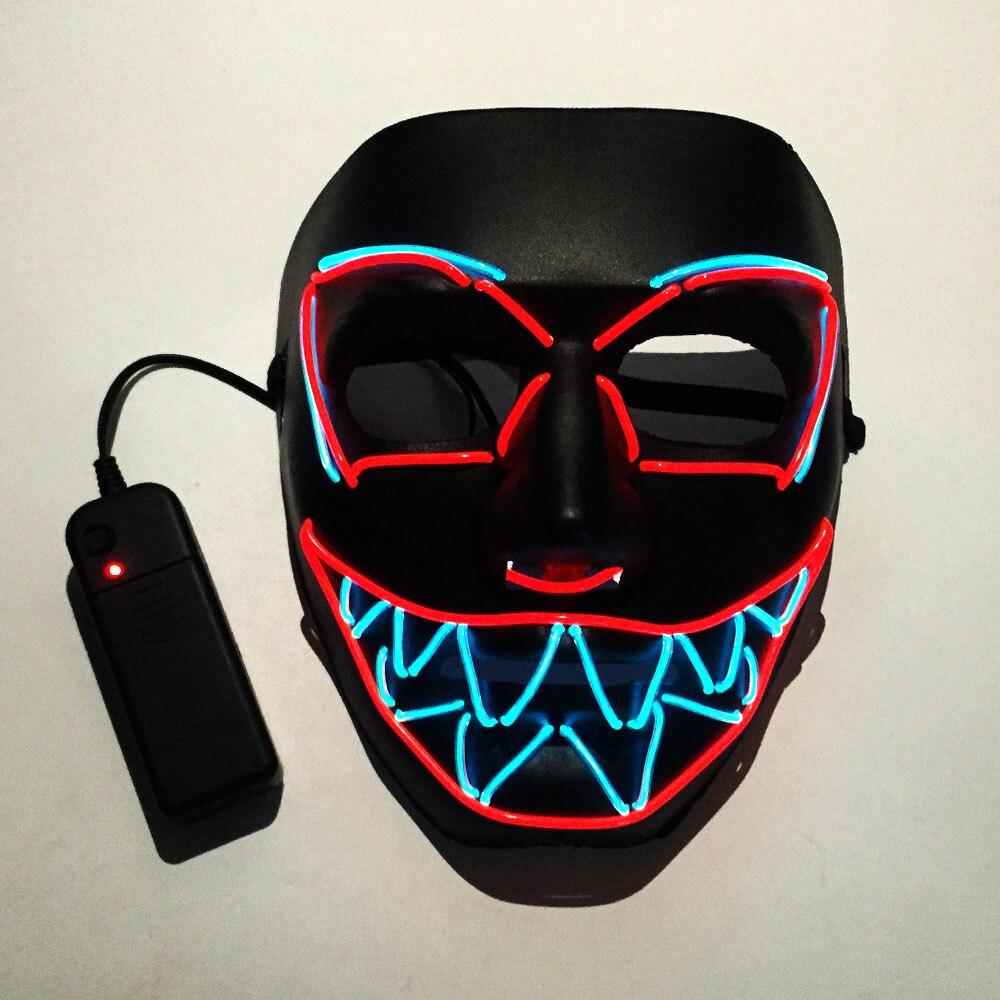 机器眼锯齿面具(恐怖款)-不发光