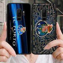 Yinuoda Phone Case For Porto FC Samsung Galaxy Shell S10 S9 8 Plus S6 S7 Edge Silicon Cover Black Soft TPU For Porto S9 S10 Lite roupa nova porto