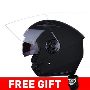 JIEKAI Motorcycle Helmet Open Face Helmets Motocicleta Cascos Para Motorbike Scooter Riding Safety Helmet Cascos Para Moto 13