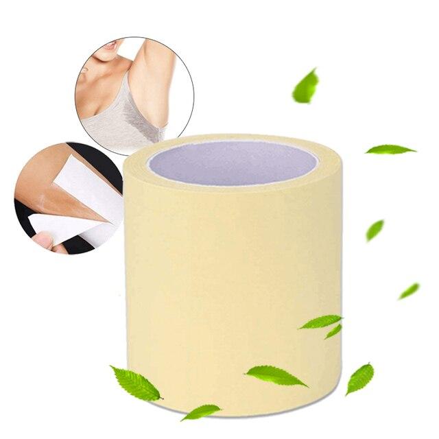 1 Roll Disposable Armpit Prevent Sweat Pads Transparent Underarm Dry Dry Antiperspirant Sticker Keep Dry Sticker TSLM2