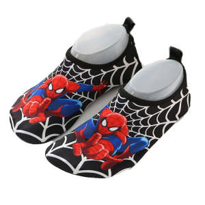 Beach-Shoes Unicorn Rainbow/spiderman Slippers Barefoot Girls Baby Boys Summer Children