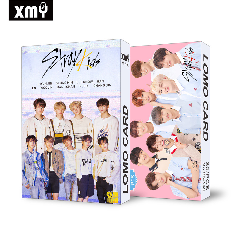 30pcs/set Kpop STRAY KIDS EXO IZONE Blackpink Twice GOT7 Lomo Card New Arrivals Good Quality Album Poster HD Photocard KPOP