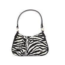 Caker Brand 2019 Women PU Leather Stripe Bag