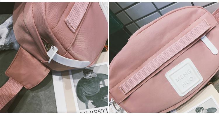 Menghuuo Waist Bag Women Fanny Packs Belt Bag Luxury Brand Nylon Chest Handbag 5 Colors 2018 New Fashion Hight Quality Waist Bag_41
