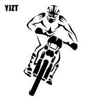 YJZT-pegatina de coche de carreras para Motocross, accesorios de moda para coche encantador, C31-0217, 10,6 CM x 17,8 CM