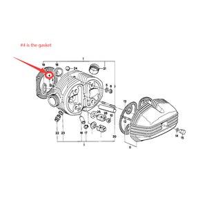 Image 5 - Motor da motocicleta cárter embreagem capa cilindro gaxetas kits conjunto para bmw r80 1976 1995 r100gs 1976 1997