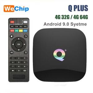 Smart Android 9.0 TV Box Q plu