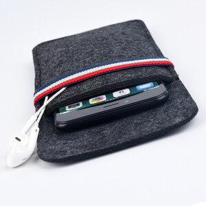 Image 4 - Pour étui iphone 11 Pro, pour Apple iphone 11 Pro Max 6.5 Ultra mince fait à la main en laine feutre housse de téléphone pour accessoires iphone 11