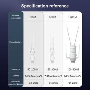 Image 5 - Wavlink عالية الطاقة AC1200 في الهواء الطلق اللاسلكية واي فاي مكرر AP/موزع إنترنت واي فاي 1200Mbps المزدوج Dand 2.4G + 5Ghz طويلة المدى موسع POE