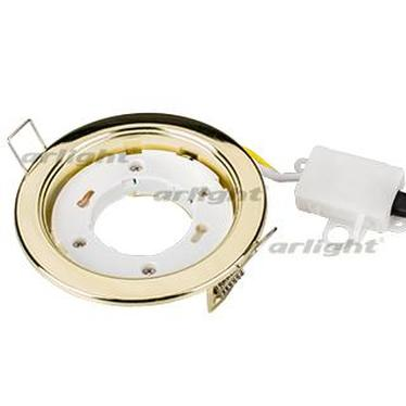 017022 LED Lamp Frame Gx53 106g Golden Arlight 1-piece