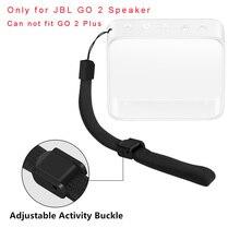Protection TPU coque peau Couverture Avec Dragonne pour JBL GO 2 Haut Parleur Bluetooth AUG 10A