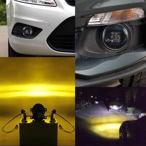 Image 5 - 2 Pieces LED Fog Light 30W 8000LM Car Front Bumper Fog Lamp 12V For Honda CR V CRV Pilot Accord Crosstour City Fit Insight CR Z