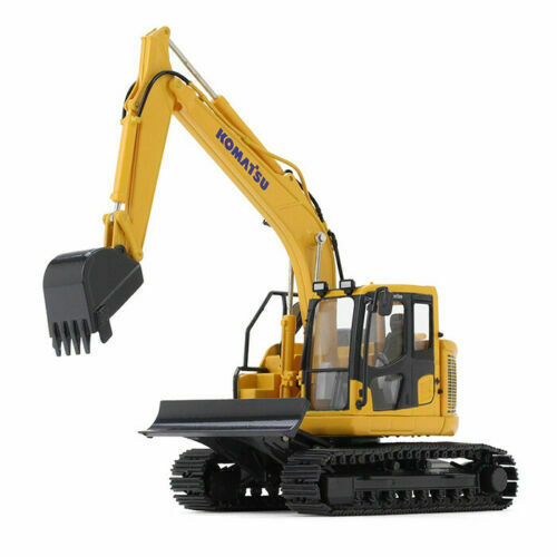 Collectible First Gear Alloy Model 1:50 Scale Komatsu PC138USLC-11 Hydraulic Excavator Construction Vehicles Diecast Toy Model