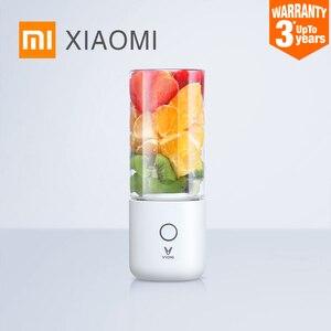 XIAOMI MIJIA VIOMI Blender Electric Kitchen Mixer Juicer Fruit Cup Small Portable mini Food Processor 45 seconds quick Juicing(China)