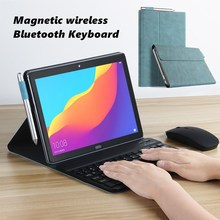 Умный чехол для Huawei MediaPad T5 10, чехол для клавиатуры 10,1 дюйма, AGS2-W09 AGS2-L09, тонкий чехол для Bluetooth-клавиатуры
