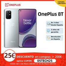OnePlus 8T, ROM Global, 8GB/12GB RAM 128GB/256GB ROM, Snapdragon 865 5G Movil, 6.55'' 120Hz Pantalla, 48MP Cámara, Carga de 65W NFC
